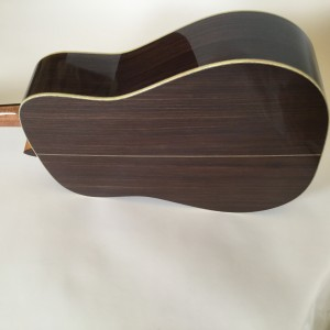 Sipe rosewood dreadnought back
