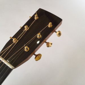 Sipe rosewood dreadnought headstock