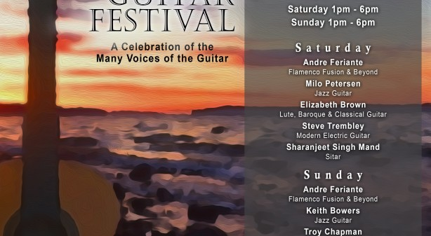 2019 Whidbey Island Guitar Festival Poster